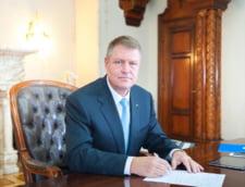 Iohannis a sesizat CCR in legatura cu modificarile la Statutul parlamentarilor