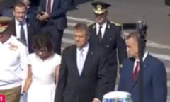 Iohannis a venit la Ziua Marinei cu sotia sa: A vorbit despre unitate, importanta rolului nostru in NATO si contextul regional volatil