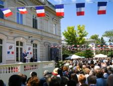 Iohannis a vorbit despre egalitate si fraternitate, ambasadoarea Frantei a amintit despre statul de drept