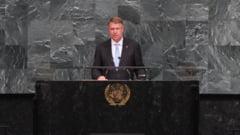 Iohannis a vorbit la Adunarea Generala a ONU despre terorism si conflictele din regiunea Marii Negre (Video)