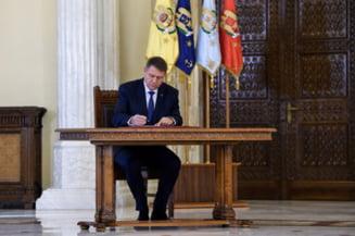 Iohannis are programate consultari cu partidele luni seara. Va merge si Ponta?