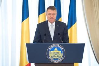 Iohannis cere sa se adreseze Parlamentului