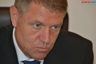 Iohannis condamna ferm interventia brutala a Jandarmeriei, la protestul din Piata Victoriei