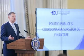"""Iohannis continua proiectul """"Romania educata"""": Nu putem in epoca Inteligentei Artificiale sa avem probleme de analfabetism functional"""