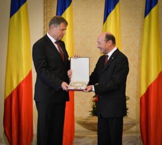 Iohannis denunta un blat Basescu-Ponta: Inca am acest sentiment