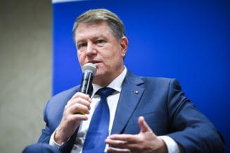 """Iohannis explica de ce nu primeste penali la Cotroceni, dar l-a invitat pe Basescu si de ce Firea a fost """"ineleganta"""""""