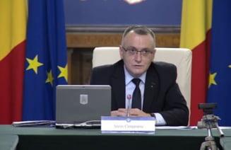 Iohannis i-a acceptat demisia lui Oprea. Sorin Cimpeanu, numit interimar si la Ministerul de Interne