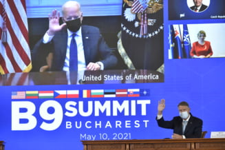 """Iohannis i-a cerut lui Joe Biden o crestere a prezentei militare a NATO in Romania: """"Situatia de securitate la Marea Neagra - ingrijoratoare"""""""