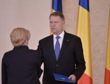 Iohannis ii cere demisia Vioricai Dancila: Nu face fata functiei de premier. Transforma Guvernul intr-o vulnerabilitate