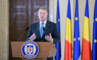 """Iohannis in """"escape room"""""""