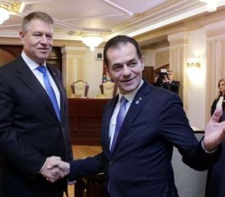 Iohannis l-a chemat pe Orban la Cotroceni, apoi discuta cu managerii de spitale