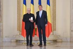 Iohannis l-a decorat pe Victor Rebengiuc: Aparati valorile pe care construim parcursul european al tarii (Foto)