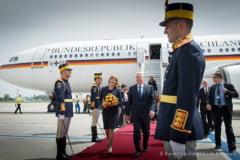 Iohannis l-a decorat pe presedintele Germaniei cu Ordinul Steaua Romaniei