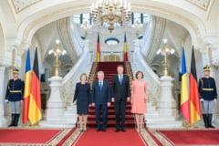 Iohannis l-a primit la Cotroceni pe Joachim Gauck: Relatia cu Germania este de importanta strategica (Video)