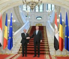 Iohannis l-a primit la Cotroceni pe presedintele Egiptului. Ce au spus despre problema Israel-Palestina