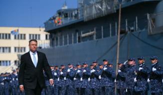 Iohannis lauda improvizatiile pe care le fac romanii din lipsa de conditii, la cel mai mare exercitiu NATO din Marea Neagra