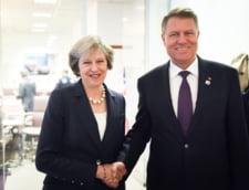 Iohannis merge la Londra, unde se va intalni cu Theresa May
