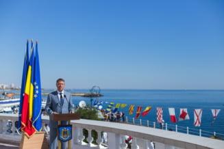 Iohannis merge la manifestarile de la Constanta, de Ziua Marinei