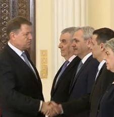 Iohannis neaga existenta unui pact cu Grindeanu, sugerata de Ponta: Nu exista si nu va exista vreo intelegere scrisa cu PSD