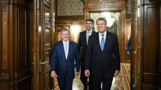Iohannis nu are emotii la prezidentiale: O candidatura a lui Ciolos nu imi va crea probleme