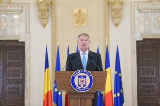 Iohannis o acuza pe Dancila de manipulare jalnica si cere o lege pentru desfiintarea SS: Guvernul a primit din nou cartonas rosu