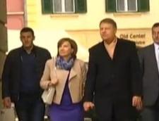 Iohannis petrece 1 Mai cu sotia, la Sibiu