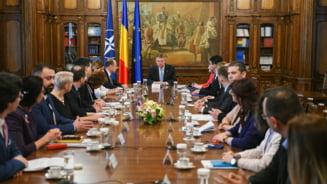Iohannis s-a consultat cu magistratii despre starea justitiei, referendum si controversata Sectie Speciala