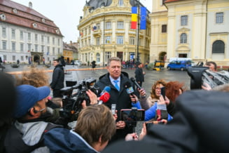 Iohannis s-a dus in inspectie inaintea summit-ului de la Sibiu
