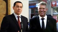 Iohannis s-a intalnit cu Ponta la Cotroceni - vezi despre ce au discutat (Video)
