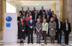 Iohannis s-a intalnit cu ambasadorii statelor UE: Climatul politic din Romania s-a imbunatatit dupa alegeri