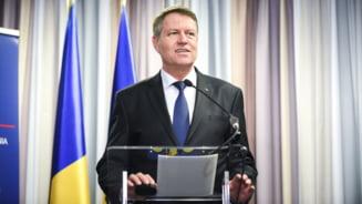 Iohannis se adreseaza azi Parlamentului in legatura cu modificarea codurilor penale