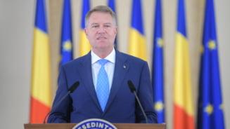 Iohannis se intalneste cu procurorul general al SUA si cu presedintele Egiptului