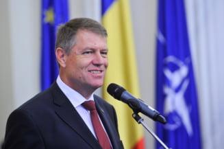 Iohannis se intalneste luni cu trei ministri, la Palatul Cotroceni