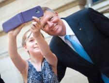 Iohannis selfie copil