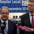 """Iohannis si Blaga, despre """"fumigena"""" lui Tariceanu"""