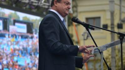 Iohannis si Blaga decid marti viitoarea strategie si cum il dau jos pe Ponta