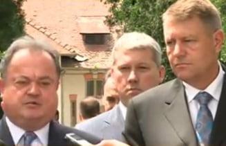 Iohannis si Blaga tureaza motoarele: Comisii mixte, candidat unic la presedintie pana la 1 august (Video)