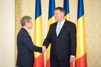 Iohannis si Ciolos, impreuna la Iasi de Ziua Unirii