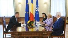 Iohannis si Dancila au discutat la Cotroceni: Premierul sustine ca s-a vorbit despre presedintia Consiliului UE, presedintele nu spune nimic