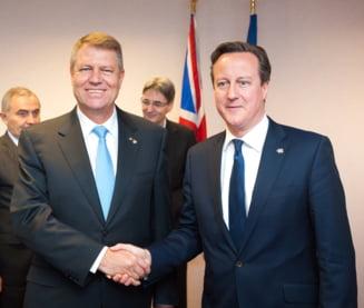 Iohannis si David Cameron, discutii despre imigrantii romani - ce infrangere grea a suferit premierul britanic