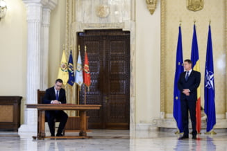 Iohannis si partidele au semnat acordul pentru finantarea Armatei: Le aratam militarilor ca ii respectam (Video)