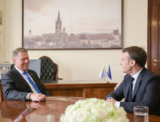 Iohannis spune ca Macron i-a promis ca isi retrage candidatul si o sustine pe Kovesi la sefia Parchetului European