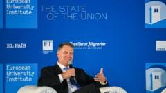 Iohannis spune ca in Romania democratia nu e in pericol. Jurnalist german: Am inteles corect, spuneti ca e totul ok? (Video)