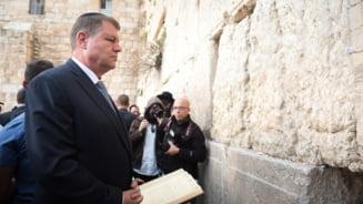 Iohannis stie ce contine memorandumul mutarii ambasadei la Ierusalim: Greseala a fost facuta