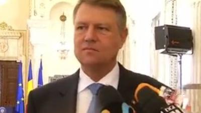 Iohannis va discuta cu PSD si ALDE despre sefia SIE: La momentul potrivit voi face o propunere