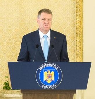Iohannis vrea sa vorbeasca in Parlament despre ordonanta Iordache