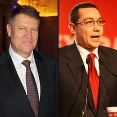 Iohannis vrea un Guvern PNL. Ponta: Executivul pe care il conduc e cea mai buna varianta pentru Romania