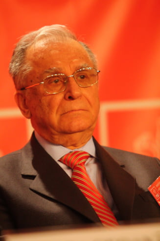Ion Iliescu a fost audiat in dosarul Mineriadei UPDATE Avocat: Ne pregatim apararea