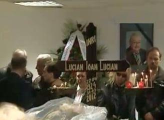 Ion Lucian este inmormantat pe Aleea Artistilor din Cimitirul Bellu