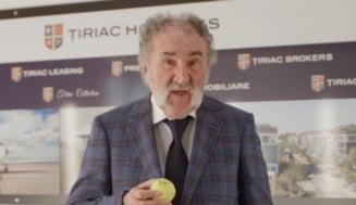 Ion Tiriac a donat o suma impresionanta si o provoaca pe Simona Halep: E cea mai mare catastrofa, mingea e la tine (Video)